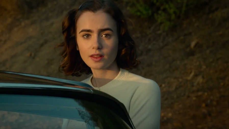 Lily Collins has that old Hollywood glow in 'Rules Don't Apply' trailer