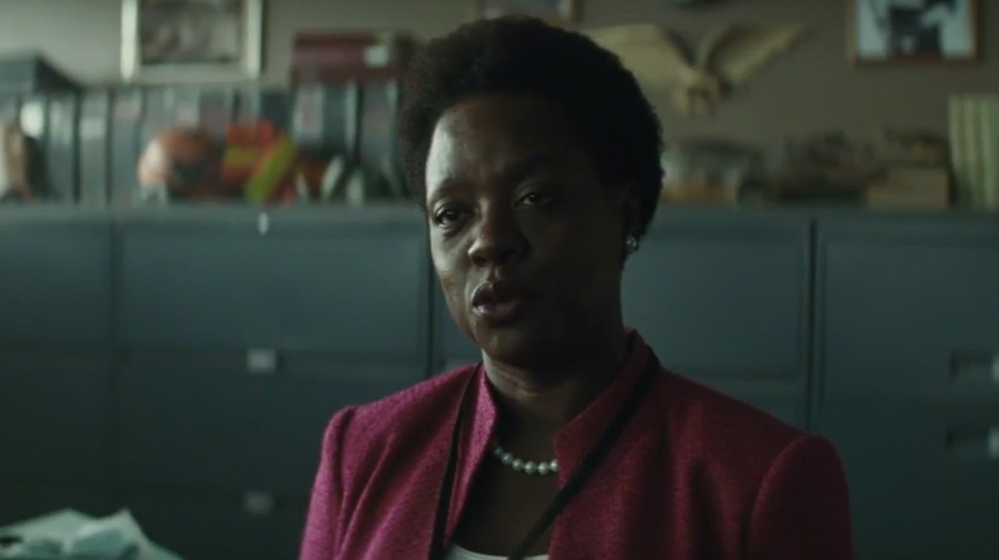 Amanda Waller is the ultimate puppet master in 'Suicide Squad' TV spot
