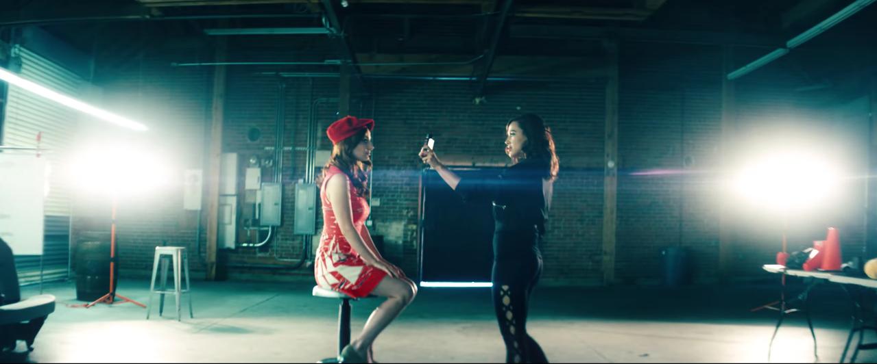 Familiar female tropes spoofed in fake movie trailer