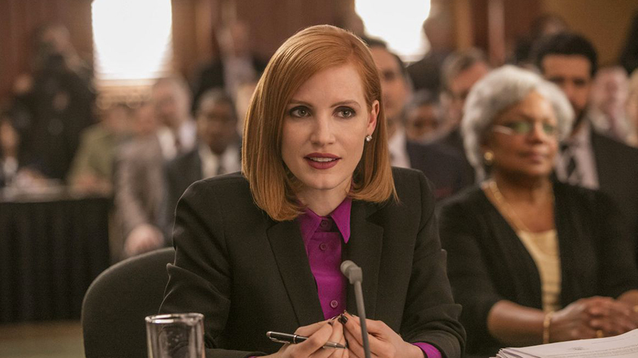 Jessica Chastain is all business in 'Miss Sloane'