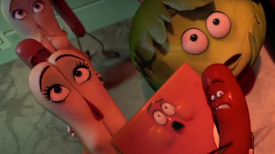 'Sausage Party' TV spot promises an hilariously horrific journey for sausages and buns