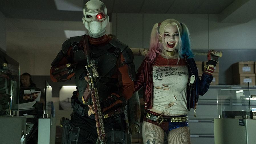 Suicide Squad Deadshot Harley Quinn Partners SpicyPulp