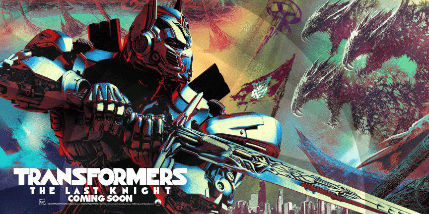 Transformers Last Knight Banner SpicyPulp