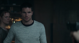 Robbie Amell must save the world in trailer for 'ARQ'
