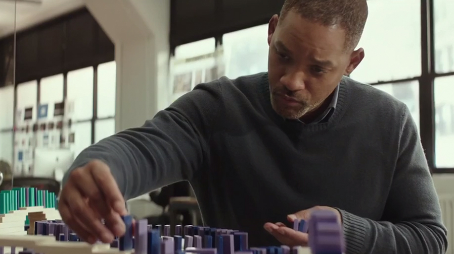 Will Smith gets in touch with the forces of the universe in 'Collateral Beauty'
