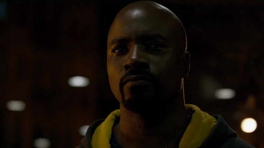 Mike Colter plays the neighbourhood hero in 'Luke Cage' clip