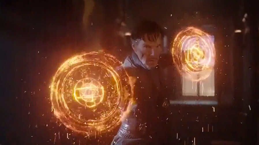 New 'Doctor Strange' TV spots tease epic cloak of levitation