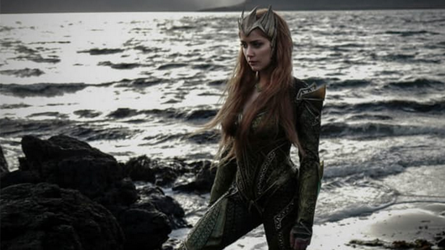 Get your first look at Amber Heard as Mera in 'Justice League'