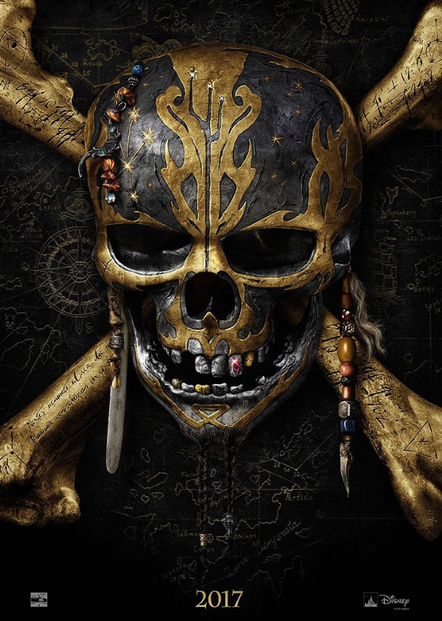 Pirates of the Caribbean Dead Men Tell No Tales Poster SpicyPulp