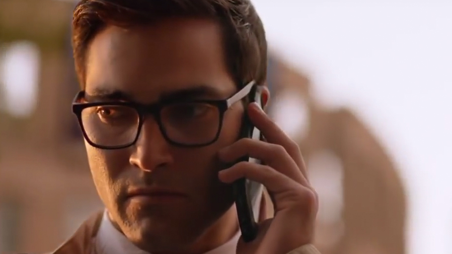 Get a look at Tyler Hoechlin in action as Clark Kent/Superman