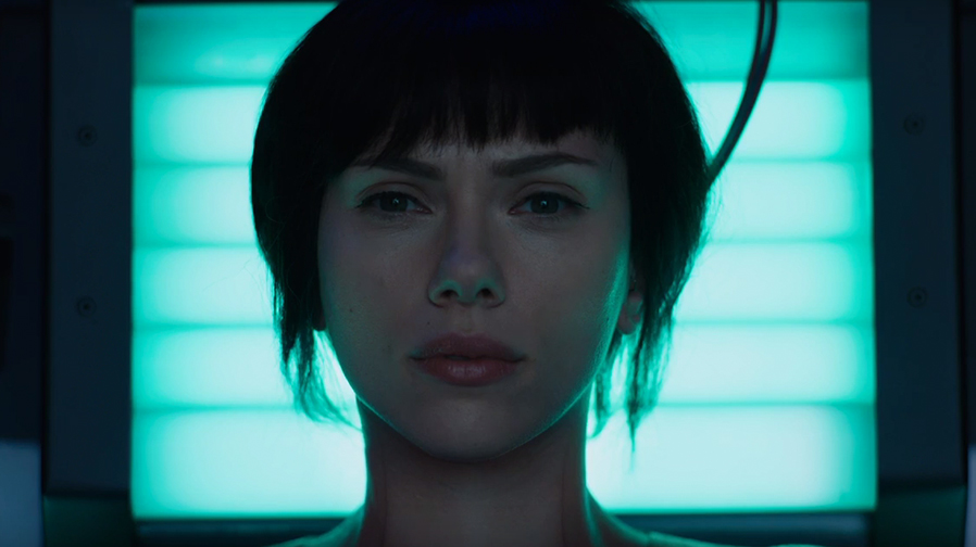 Step into the future with the first trailer for 'Ghost in the Shell'