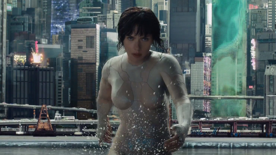 'Ghost in The Shell' gets impressive trailer tease