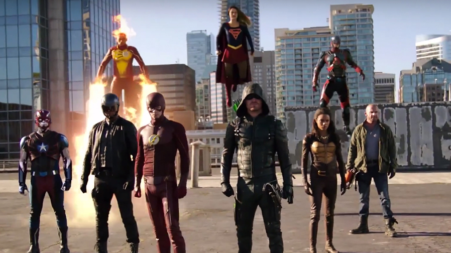 The CW unites its DC heroes for all star crossover event 'Invasion'