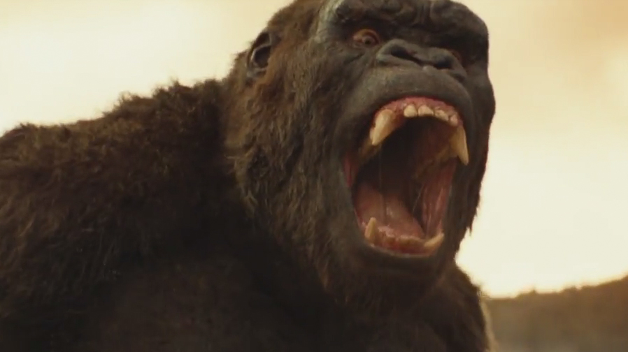 Kong reigns in new trailer for 'Kong: Skull Island'