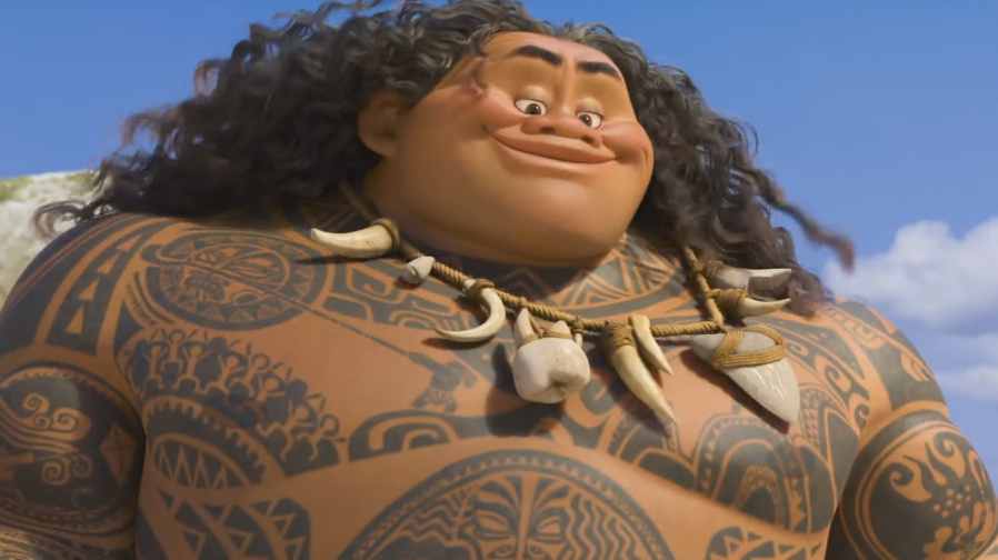 Dwayne Johnson sings his heart out in new 'Moana' clip..and his voice is awesome
