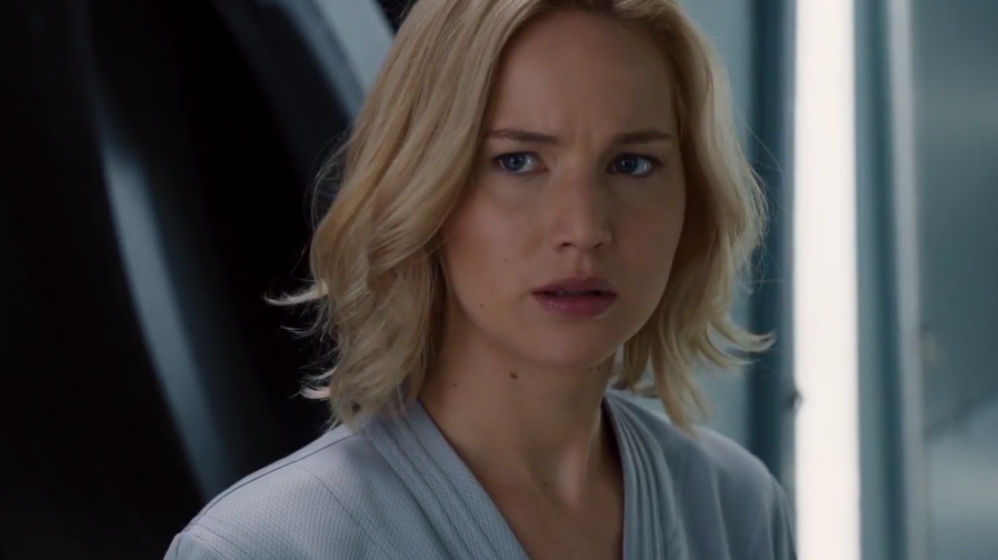 Jennifer Lawrence and Chris Pratt make a great duo in new 'Passengers' trailer