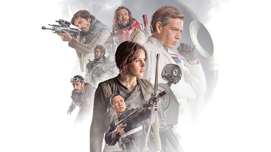 Check out these stunning new posters for 'Rogue One: A Star Wars Story'
