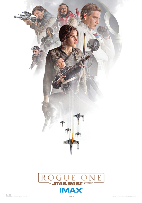 Rogue One Star Wars Posters IMAX SpicyPulp