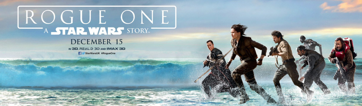 Rogue One Star Wars Story Banner