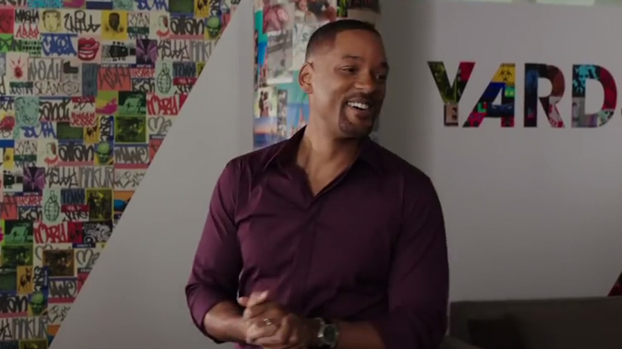 Will Smith shows off his considerable acting chops in 'Collateral Beauty' clips