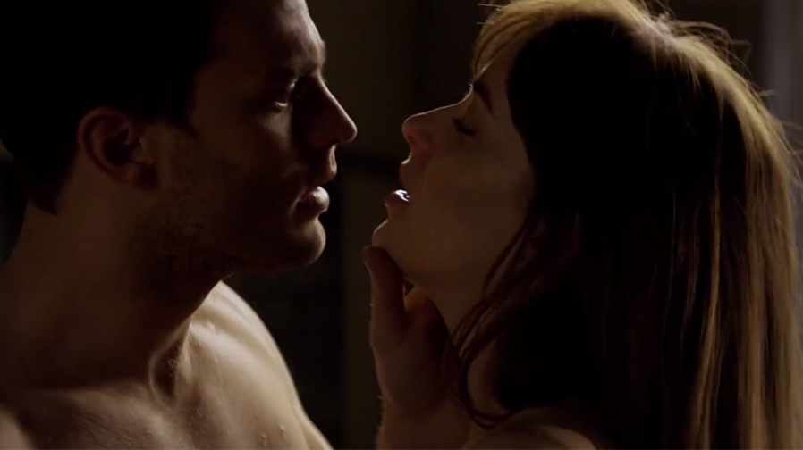The new trailer for 'Fifty Shades Darker' teases some hot and heavy moments