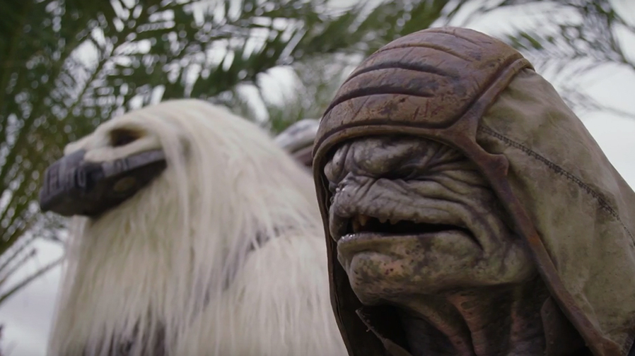 Meet the creatures of 'Rogue One: A Star Wars Story'