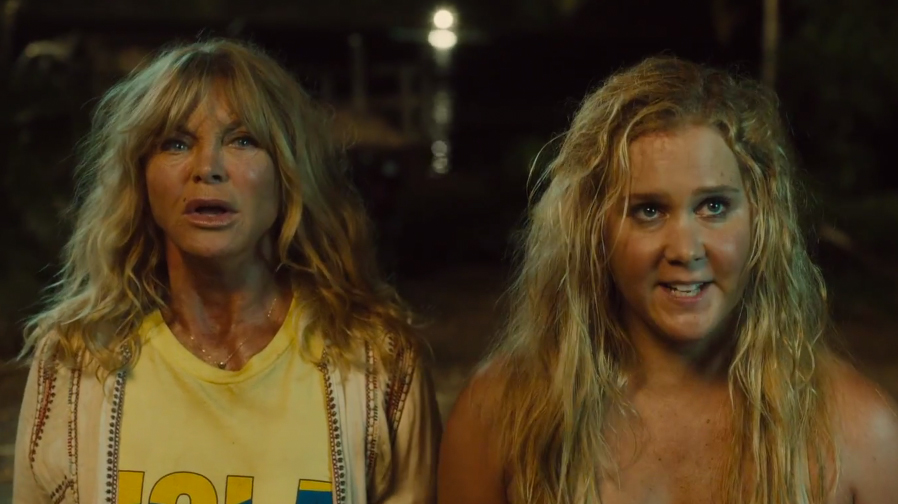 Amy Schumer teams up with Goldie Hawn in the first trailer for 'Snatched'