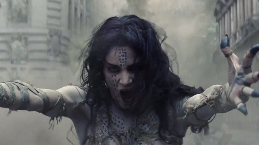 The horrific trailer teaser for 'The Mummy' is here