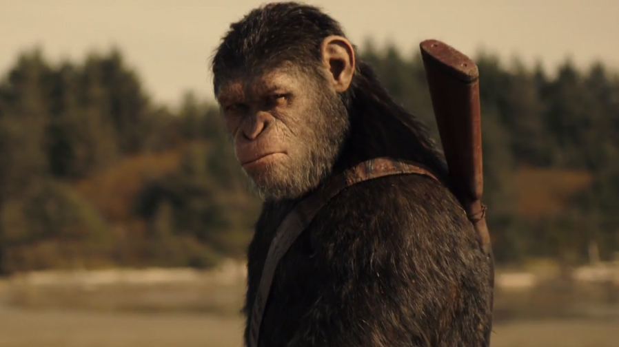 The battles lines are drawn in new trailer for 'War for the Planet of the Apes'