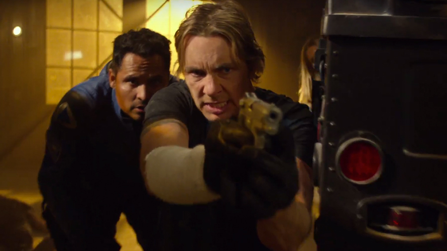 Dax Shepard and Michael Pena protect and serve in first 'CHiPS' trailer