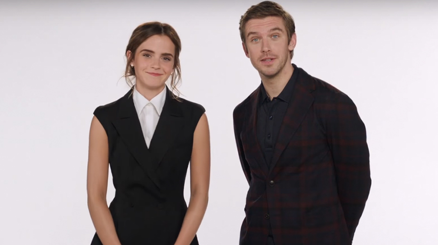 Emma Watson and Dan Stevens special 2017 message for 'Beauty and the Beast'