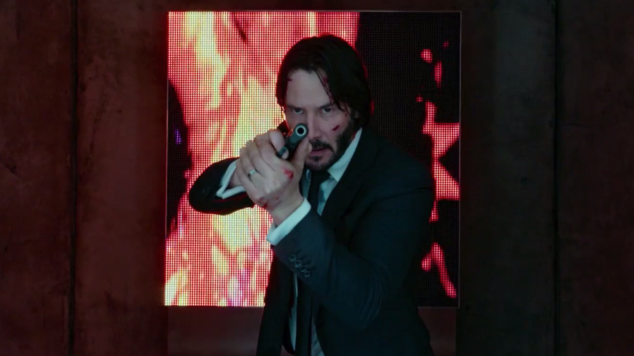 Keanu Reeves is putting in the work for 'John Wick: Chapter 2'
