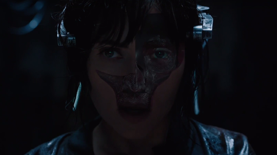 Check out the freaky new Super Bowl spot for 'Ghost in the Shell'