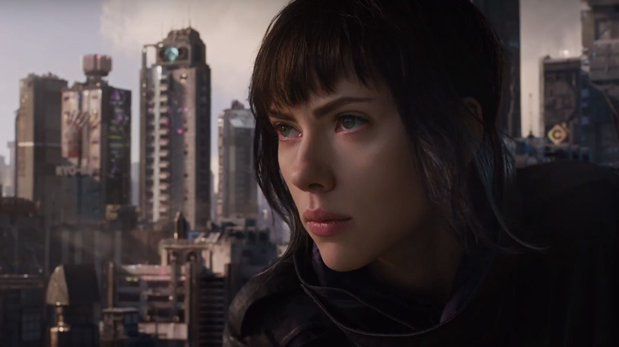 The incredible new trailer for 'Ghost in the Shell' is here