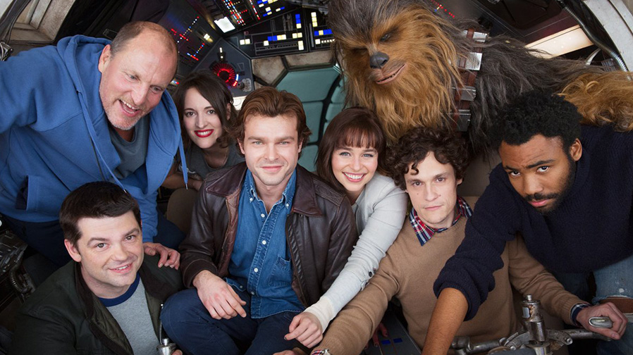 Get your first look at the cast of the new 'Han Solo' movie