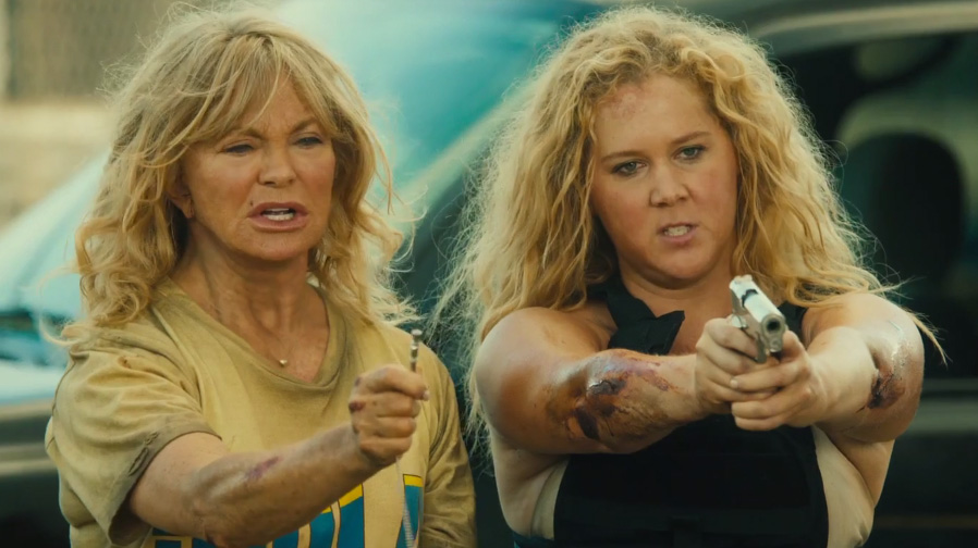 Amy Schumer is hilarious in the new trailer for 'Snatched'