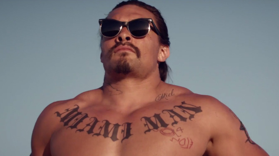 Jason Momoa and Suki Waterhouse fall hard in 'The Bad Batch' trailer