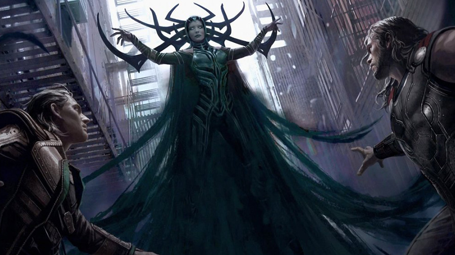 Take a look at this stunning concept art for Taika Waititi's 'Thor: Ragnarok'