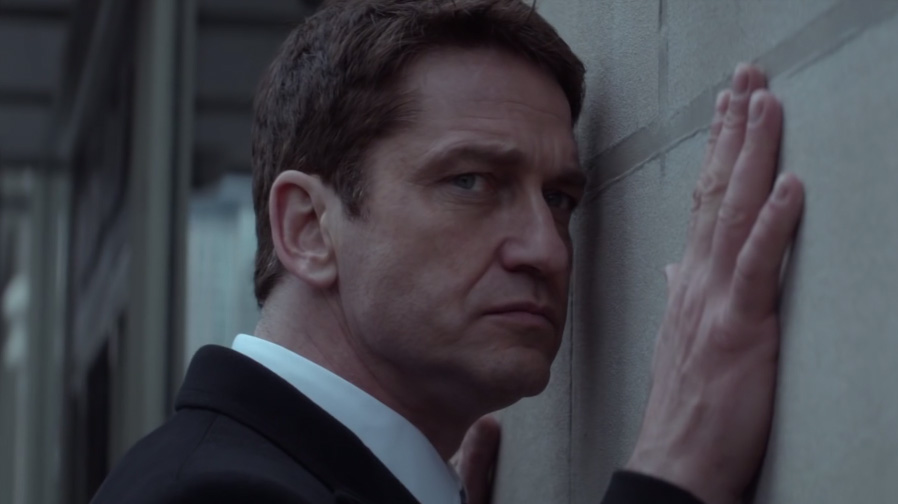 Gerard Butler brings some heavy emotion to 'A Family Man'