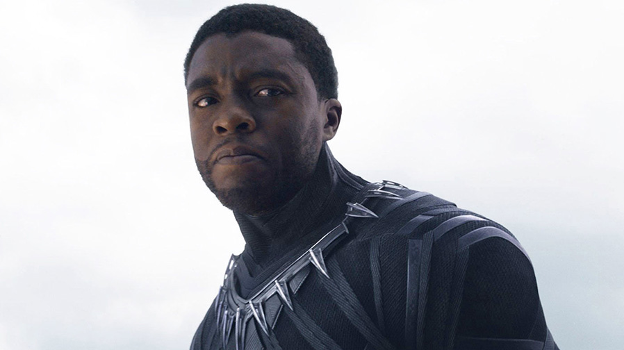 Chadwick Boseman channels Muhammad Ali on 'Black Panther' set