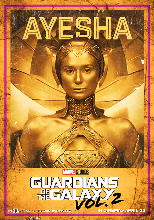 Guardians of the Galaxy Vol 2 Posters SpicyPulp Ayesha