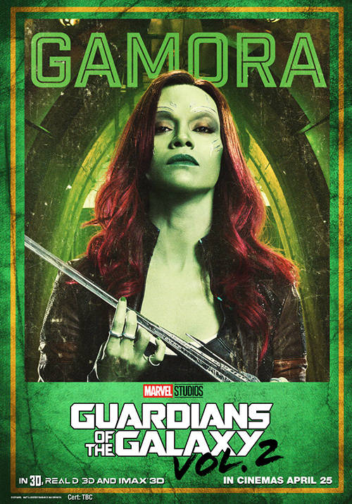 Guardians of the Galaxy Vol 2 Posters SpicyPulp Gamora