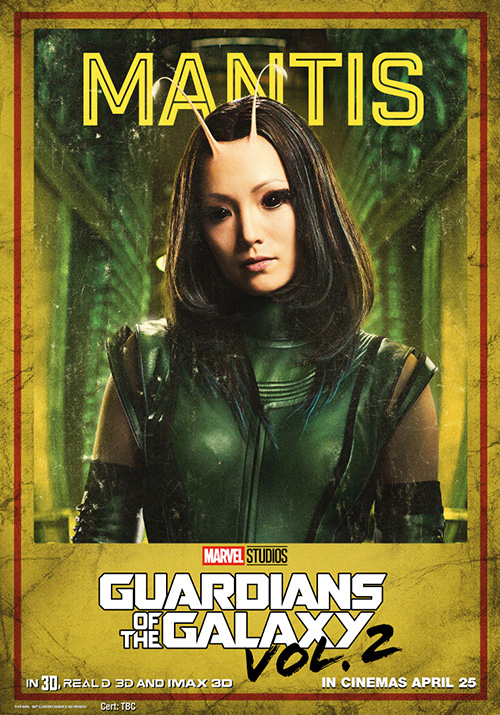 Guardians of the Galaxy Vol 2 Posters SpicyPulp Mantis