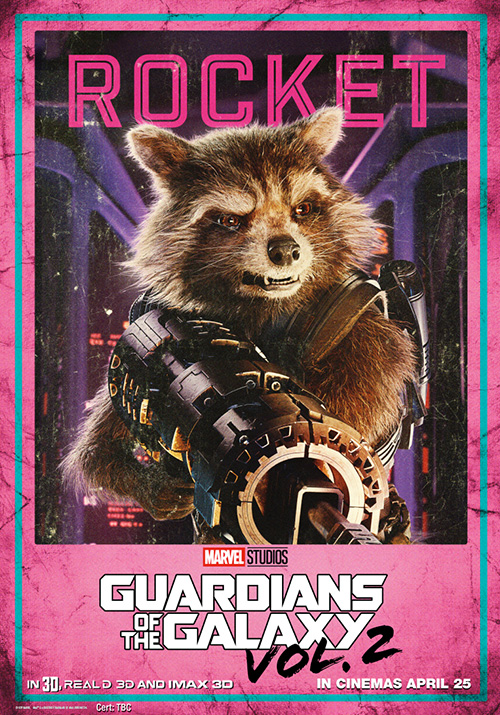 Guardians of the Galaxy Vol 2 Posters SpicyPulp Rocket