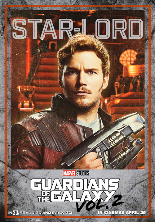 Guardians of the Galaxy Vol 2 Posters SpicyPulp Starlord