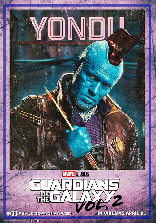 Guardians of the Galaxy Vol 2 Posters SpicyPulp Yondu