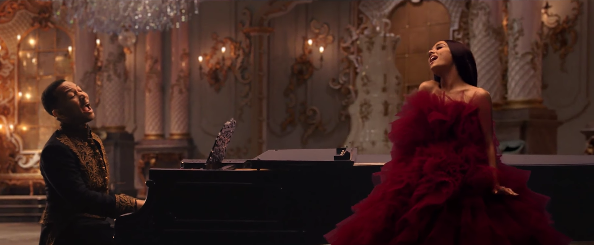 Watch the gorgeous music video for John Legend and Ariana Grande's 'Beauty and the Beast'