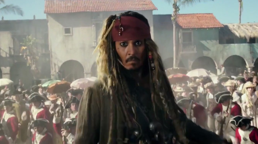 Johnny Depp returns in first trailer for 'Pirates of the Caribbean: Dead Men Tell No Tales'