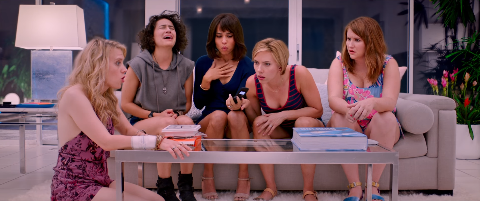 Hollywood's leading ladies kill accidentally stripper in first trailer for 'Rough Night'