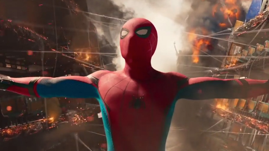 Tom Holland swings into action in new trailer for 'Spider-Man: Homecoming'